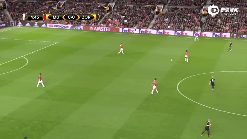 视频录播-欧联杯小组赛 曼联VS卢甘斯克上半场