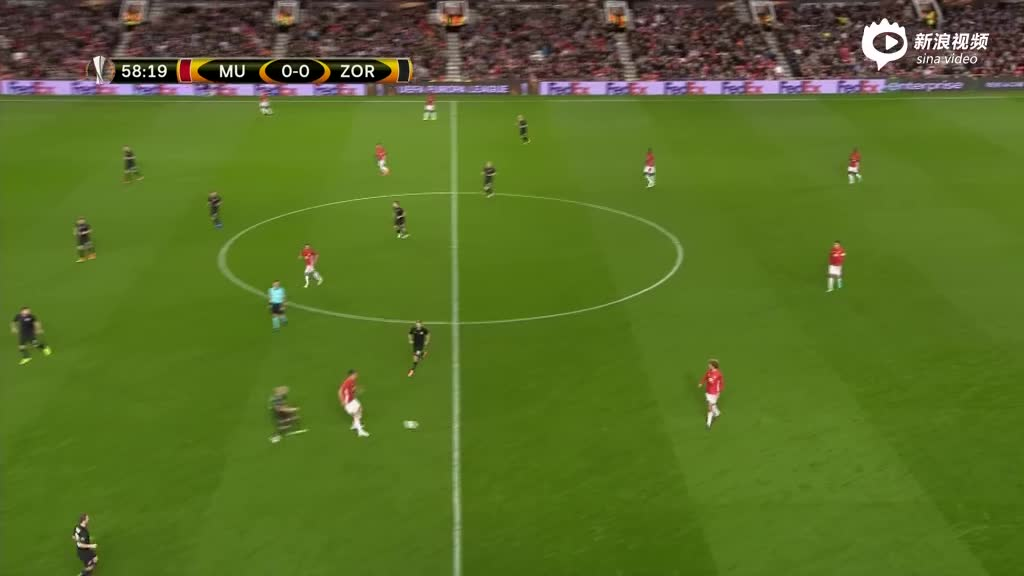 视频录播-欧联杯小组赛 曼联VS卢甘斯克下半场
