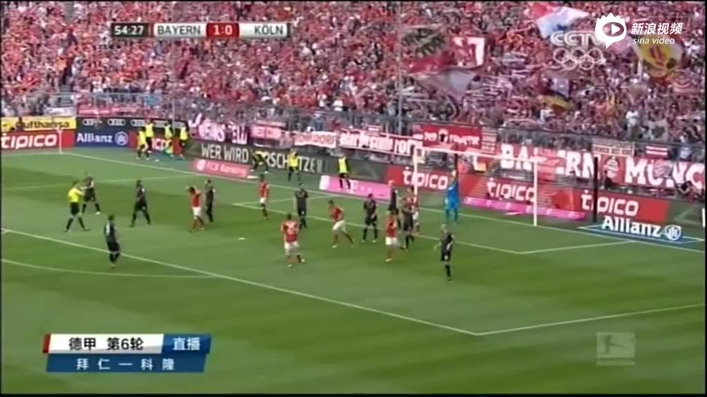 视频-阿隆索角球送前点 马丁内斯狮子甩头憾中柱