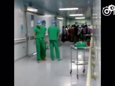 官员老婆胎死腹中 世人闹病院