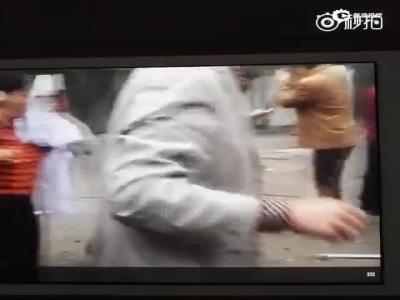 陕西府谷新民镇发作爆炸