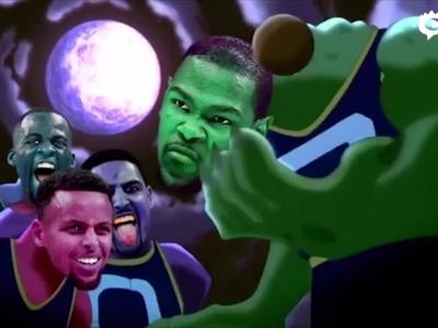 NBA新赛季爆笑宣传片