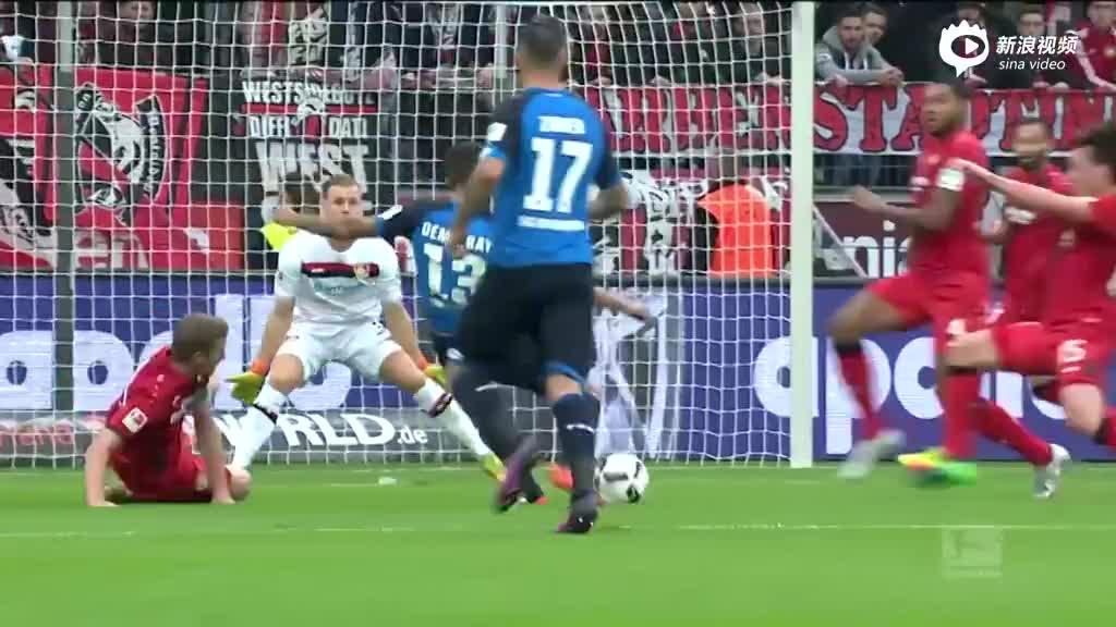 视频-德甲第8轮五佳球出炉 比达尔势大力沉头槌上榜