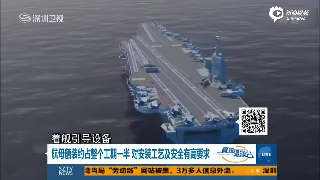 国防部宣布国产航母重大消息:主体合拢成型