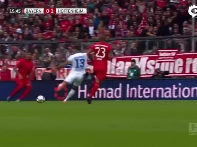 穆勒中柱拜仁1-1止连胜