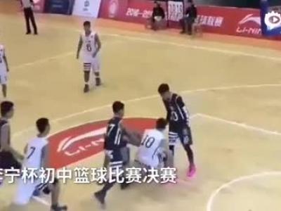 武汉初中篮球赛家长群殴