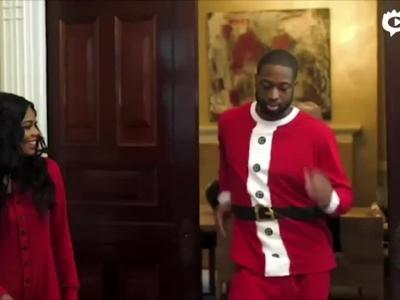 韦德圣诞送祝福