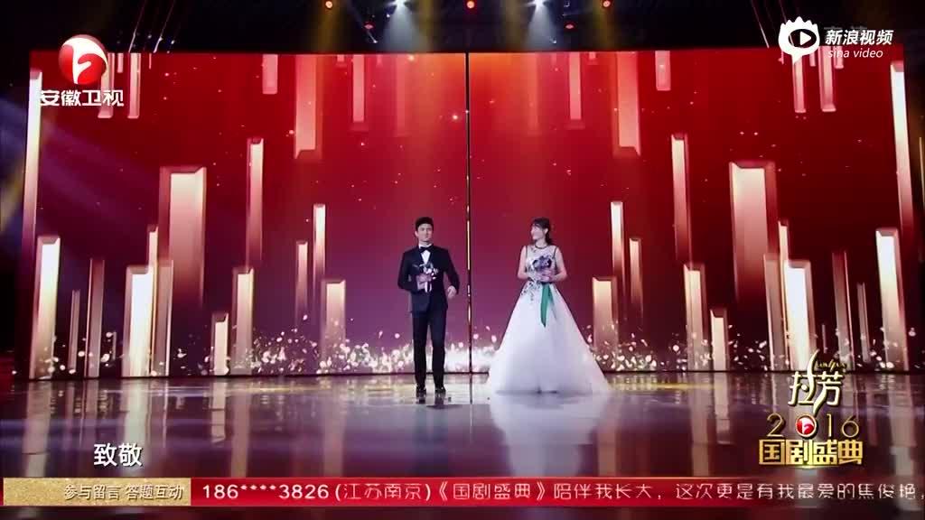 视频:2016国剧盛典 致敬影响力演员陈乔恩吴奇隆