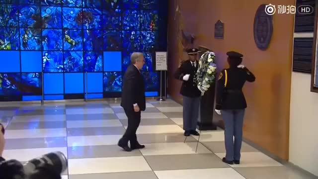 新任联合国秘书长古特雷斯首日工作忙不停