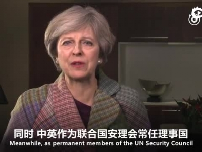 UK PM sends New Year greetings to Chinese people