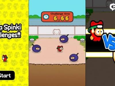 《忍者挑战Ninja Spinki》游戏视频