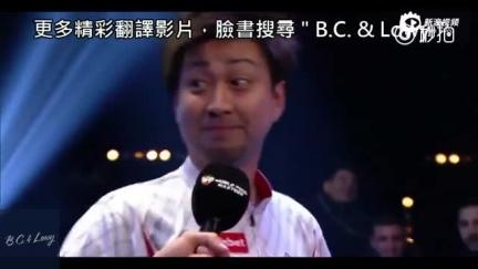 视频:日本选手讲英语驴唇不对马嘴 莫名唱起PPAP