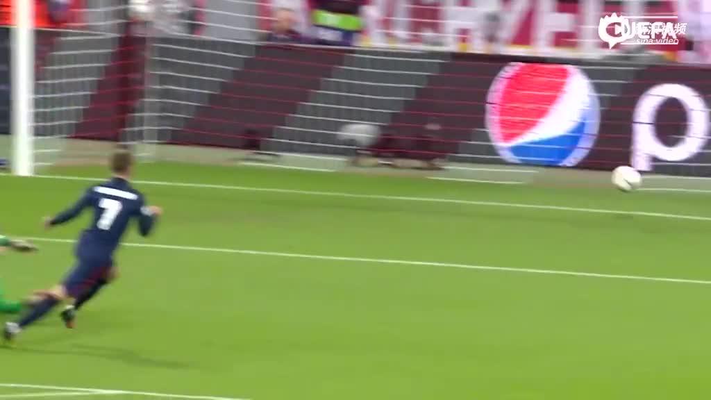 视频-格列兹曼欧战5佳球 神龙摆尾+闪耀欧洲杯