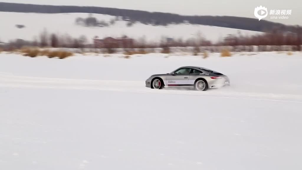 视频:后驱911赛道漂移