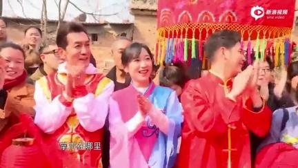视频:《熟味2》岳云鹏回老家为表弟现场证婚