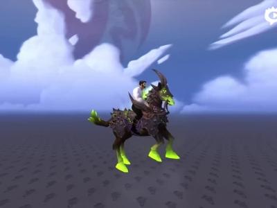 重返克索诺斯!术士新恐惧战马坐骑预览