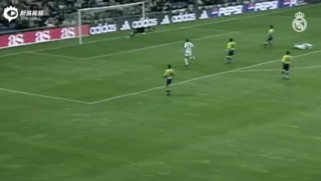 视频-皇马vs比利亚雷亚尔经典时刻 古蒂凌空垫射吊门