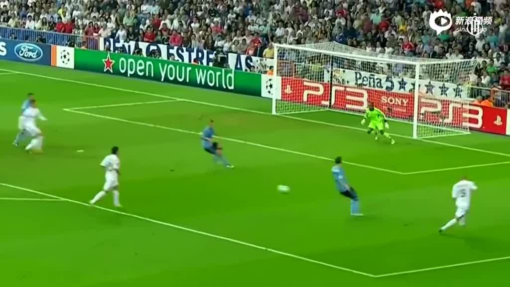 视频-C罗皇马百大进球 标志性任意球+无解爆射