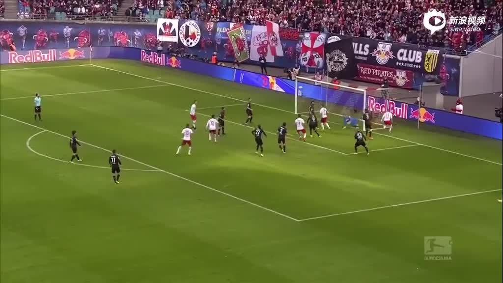 视频集锦-继续保持对拜仁压力!莱比锡3-1科隆