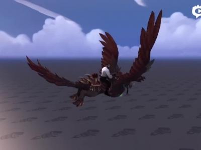 来自英灵殿的召唤!猎人的狼鹰坐骑预览