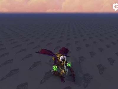 仅有一种颜色!恶魔猎手尖啸者坐骑预览