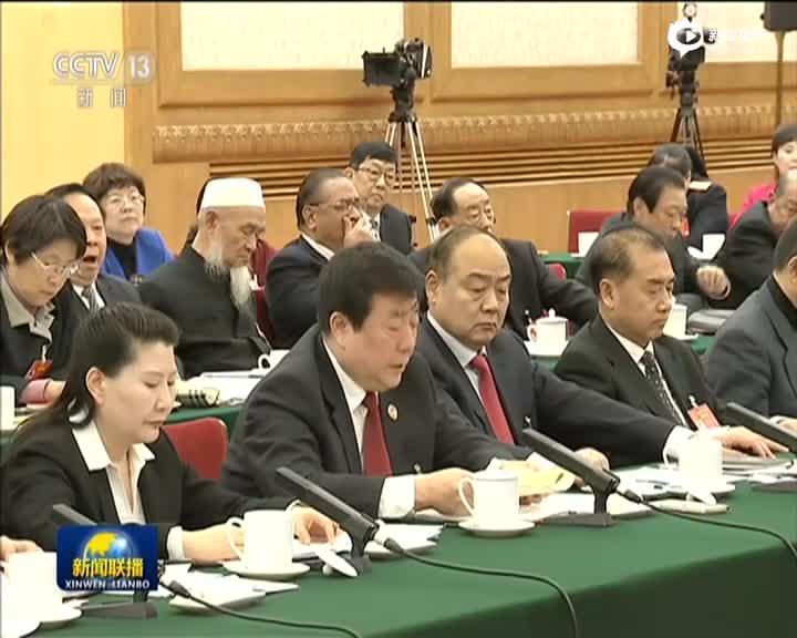 刘云山参加河南代表团审议