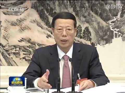 张高丽参加江西代表团审议