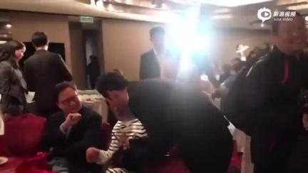 中国好老板!黄晓明替员工向古天乐要签名
