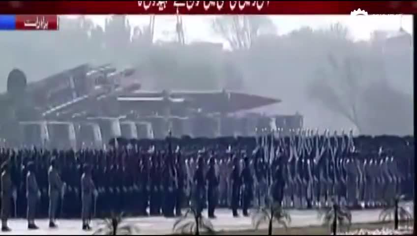 巴基斯坦2017年阅兵完整版