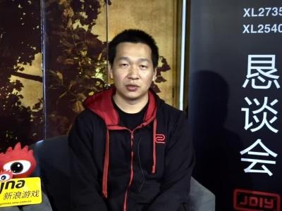 新浪游戏专访ZOWIE GEAR高级经理林国帆