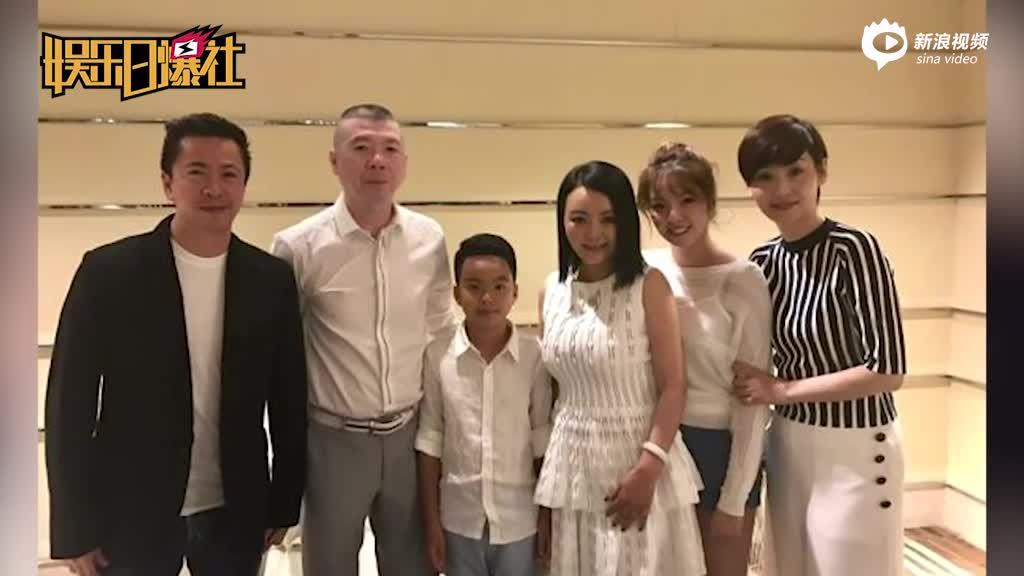 王中磊女儿和baby同框