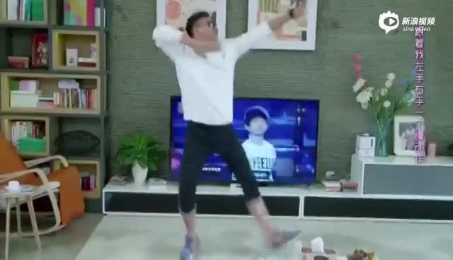 《小情人》胡军跳TFboys舞蹈