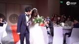 视频:林宥嘉婚礼现场三角度甜吻丁文琪  幸福新人喝交杯酒