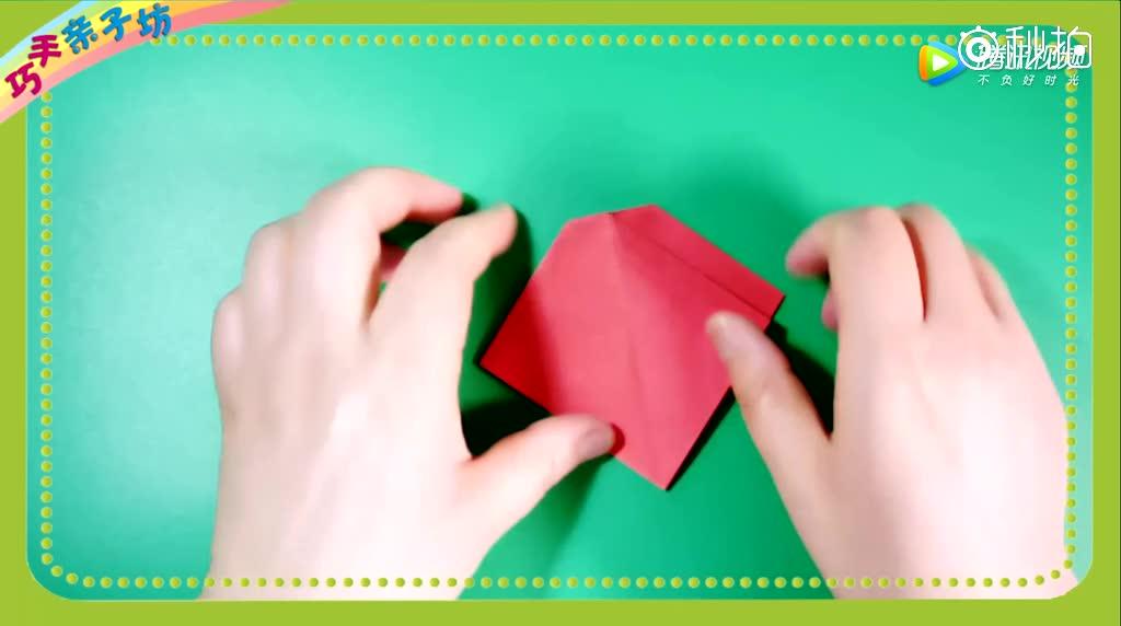 简单的折纸教程蝴蝶结,可装饰礼品盒,礼品袋