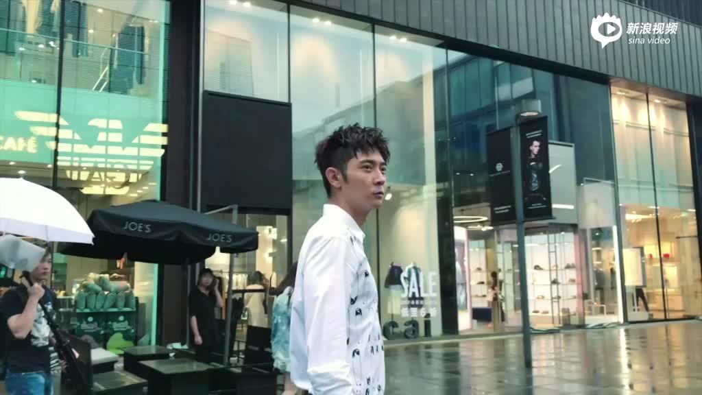 百变潮爸张丹峰拍摄花絮