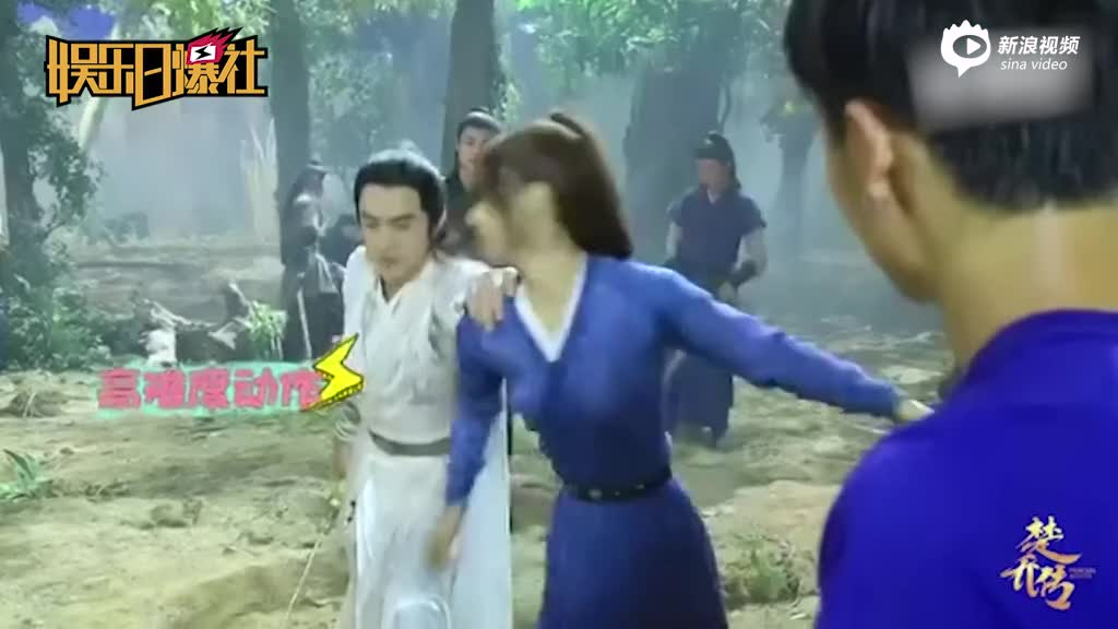 《楚乔传》片场花絮曝光