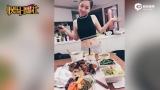 视频:邓紫棋做大餐犒劳自己 穿露脐装马甲线实力抢镜