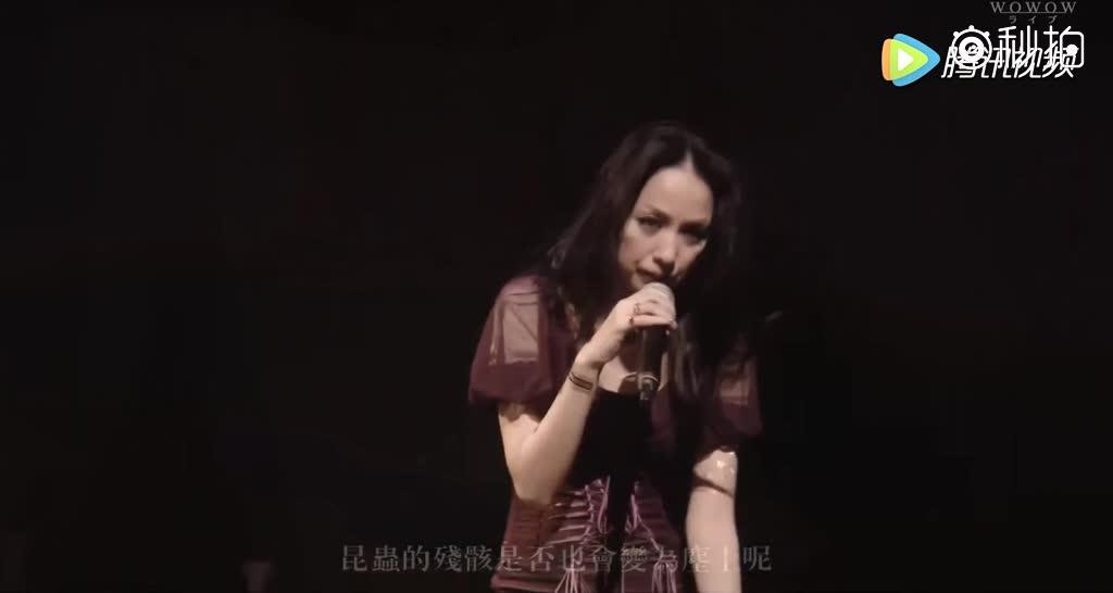中岛美嘉在演唱会唱到泪流满面的《曾经我也想过一了百了》