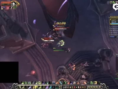 Mione视频 恶魔猎手限时单刷9层黑鸦堡垒