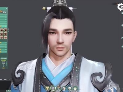 剑网3重制版最新捏脸演示