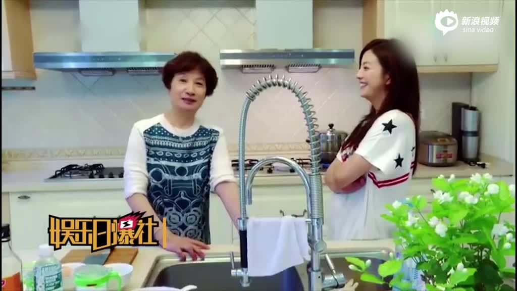 赵薇家厨房曝光