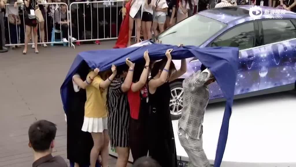 袁成杰丁子玲与粉丝做游戏
