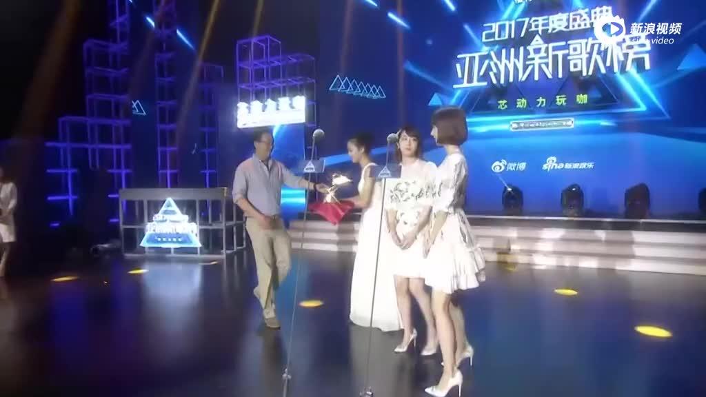 AKB48获亚洲新歌榜最佳团体