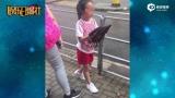 视频:赵薇派保姆车送女儿开学 小四月长这么大了