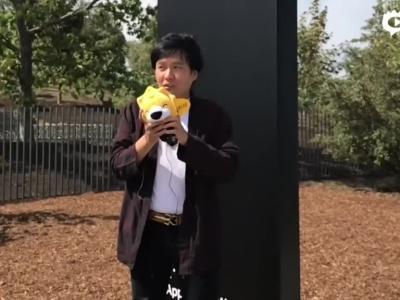 苹果秋季发布会探营视频