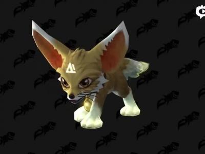 新游戏商城小宠物上架:淘气的狐狸小影