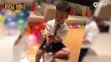 视频:吴京老婆谢楠给准儿媳过生日 儿子小暖男气质显露