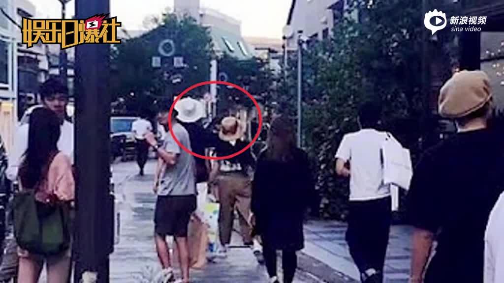 邓超孙俪疑似日本度假