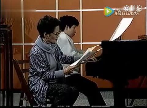 周小燕教学视频-多情的土地 范唱:廖昌永