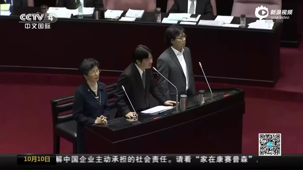 """吴敦义批民进党""""去中""""化 称坚决反对""""台独"""""""